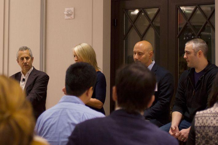 Danny Meyer, Erin Moran, Sabato Sagaria, and Abram Bissell.