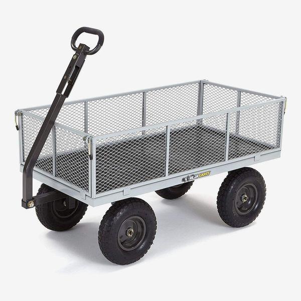 5 Best Garden Carts 2021 The Strategist, Steel Utility Flat Garden Wagon
