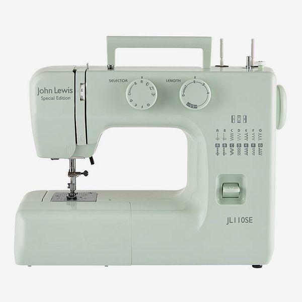 John Lewis & Partners JL110 Sewing Machine, Peppermint