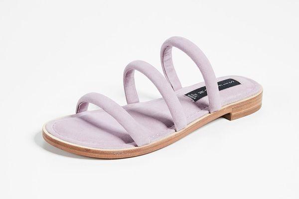 Steven Cocoa Tubular Sandals