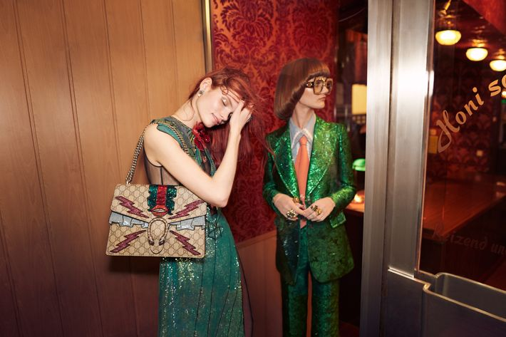 Gucci, shot by photographer Glen Luchford.