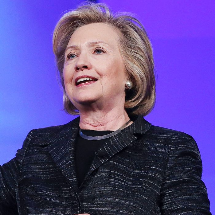 Hillary Clinton Addresses Watermark Silicon Valley Conference For Women