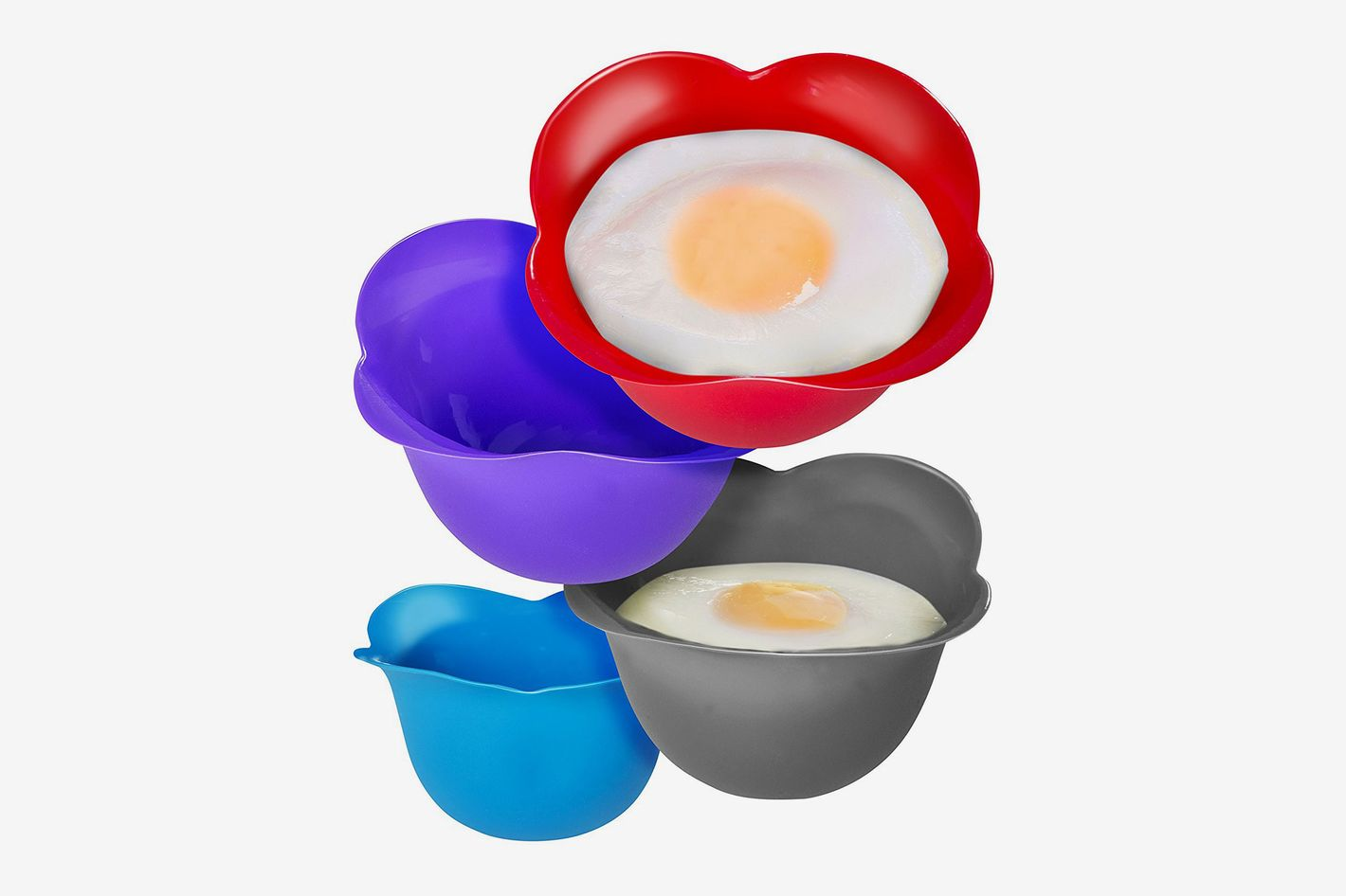 Kitzini Silicone Egg Poaching Cups