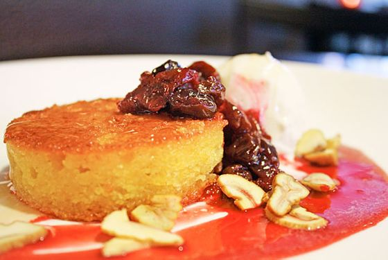 "<b>Jennings Brothers' Red Cornmeal Financier</b>     <a href=""http://groverestaurant.com/directions.html"">Grove</a>     <i>919 Cherry St.; 616-454-1000</i>   Farm-to-table food is practically de rigeur for new restaurants, but one of the most impressively locavore-leaning pastry programs we found was in Michigan's second most-populous city, of all places. The cornmeal in this cake is milled in the tiny town of Nashville, Michigan; and the honey used to roast the almonds originates less than 30 miles away from the restaurant."