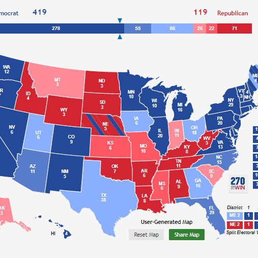 trump polls by state map Trump S State By State Approval Ratings Should Scare Him