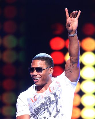 Recording artist Nelly performs during CW's