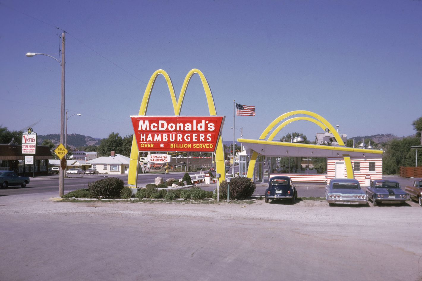 The good ol' days, before McDonald's added salads and smoothies to its menu.