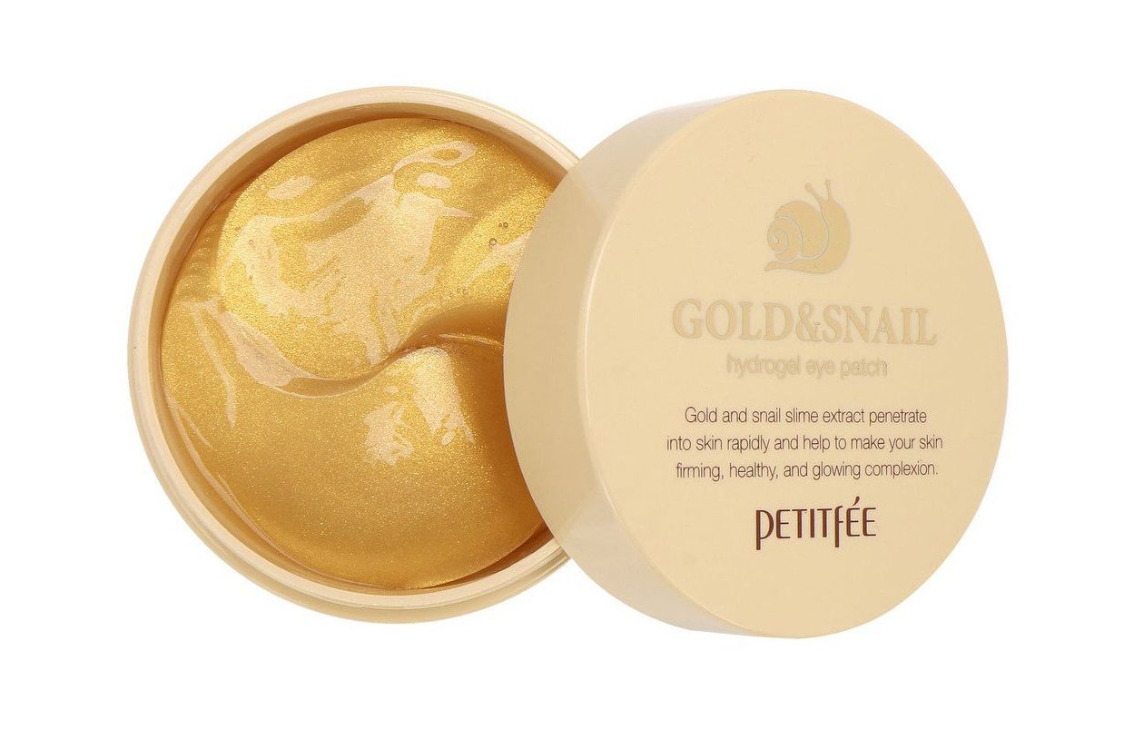Petitfee Gold & Snail Hydrogel Eye Patch, 60 pieces