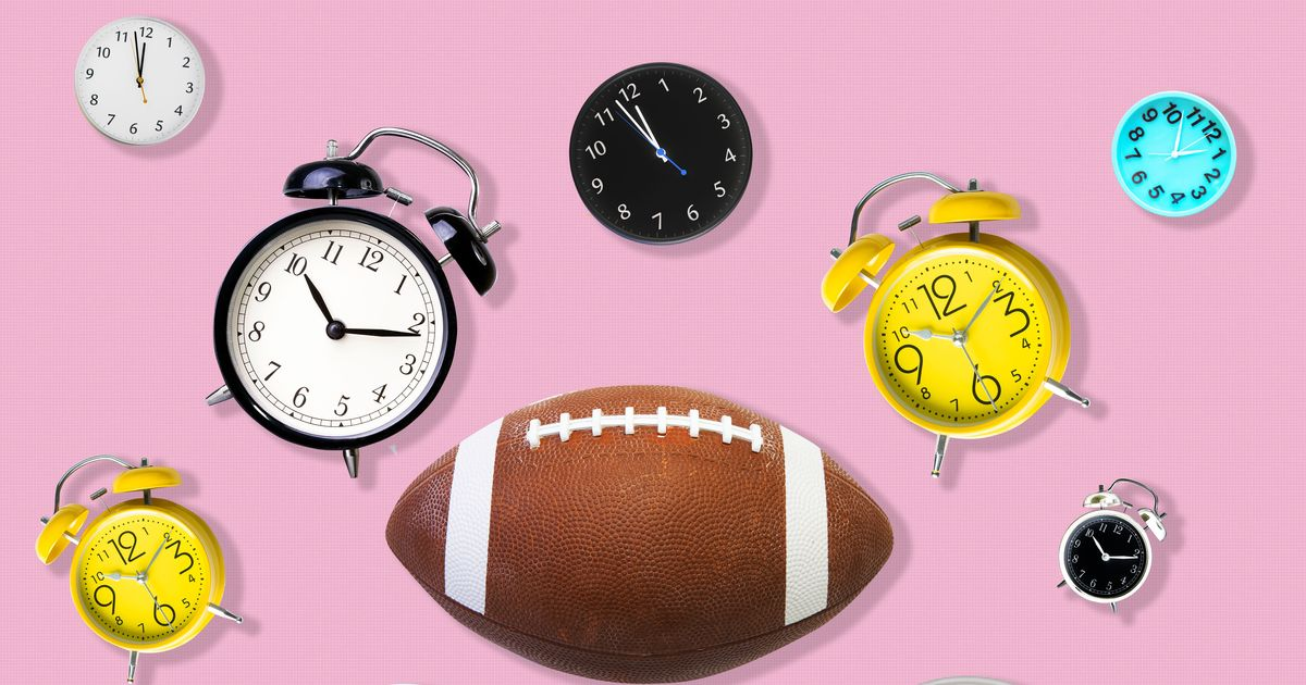 What Time Is the Super Bowl?: A Poem