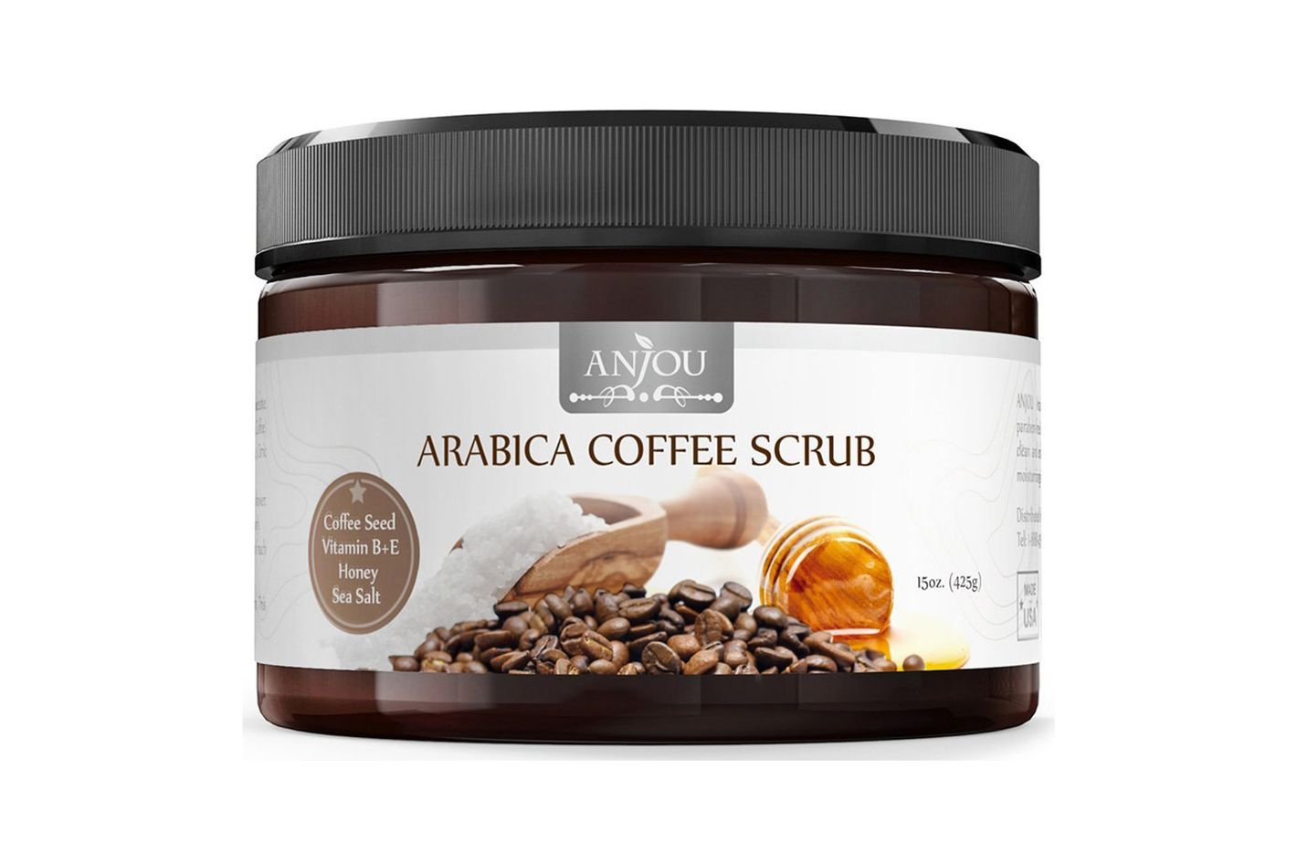Anjou Arabica Coffee Body Scrub