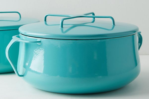 Dansk Kobenstyle Casserole Pot With Lid in Turquoise, 4-Quart