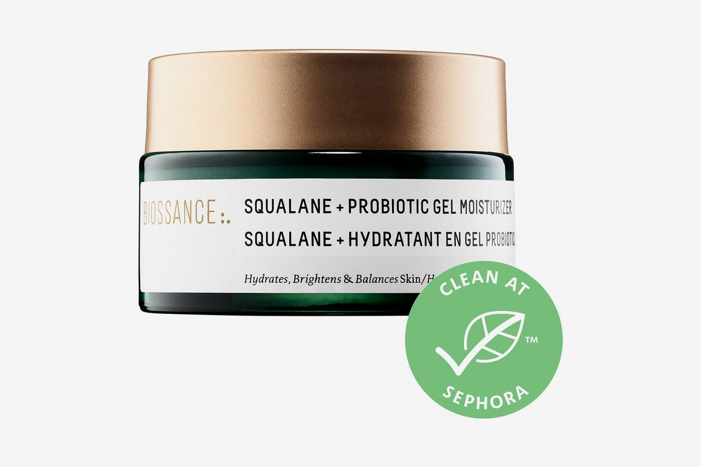 Biossance Squalane and Probiotic Gel Moisturizer