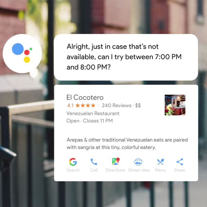 Google's Phone Robot, Duplex, Is Rolling Out This Summer
