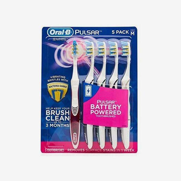 Oral-B Pulsar Vibrating Bristles Toothbrush (5 Pack)