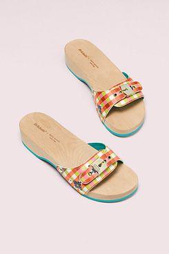 Dr. Scholl's x Kate Spade New York Bella Plaid Slide Sandal