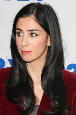 "Comedian Sarah Silverman attends ""Sarah Silverman and Andy Borowitz in Conversation at 92Y"" on November 20, 2013 in New York City."