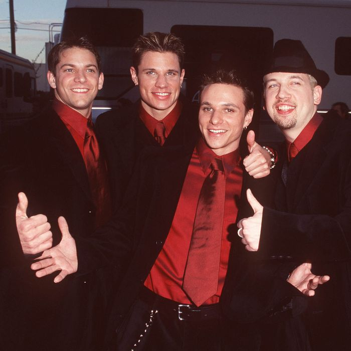The 98 Degrees of yesterday.