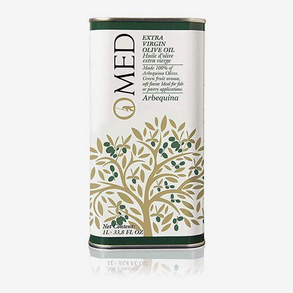 O-MED Extra-Virgin Olive Oil Arbequina Canister