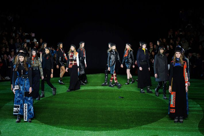 The Marc by Marc Jacobs show.