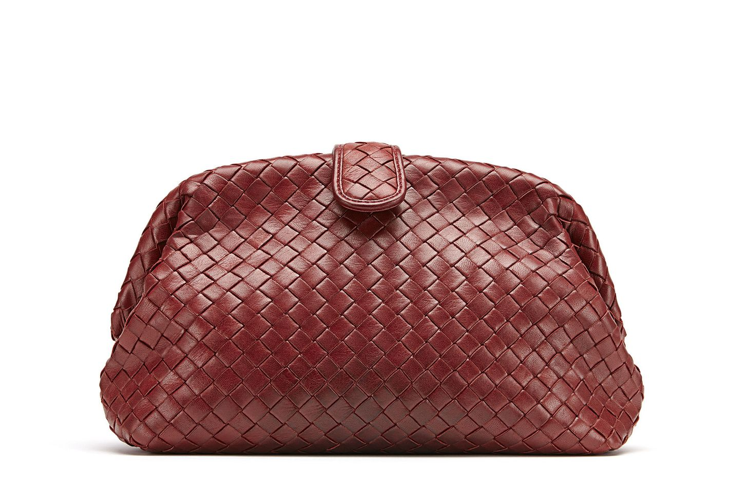 Bottega Veneta Lauren Napa Intrecciato Clutch Bag
