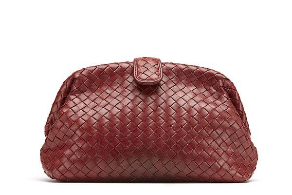 Bottega Veneta Lauren Napa Intrecciato Clutch Bag