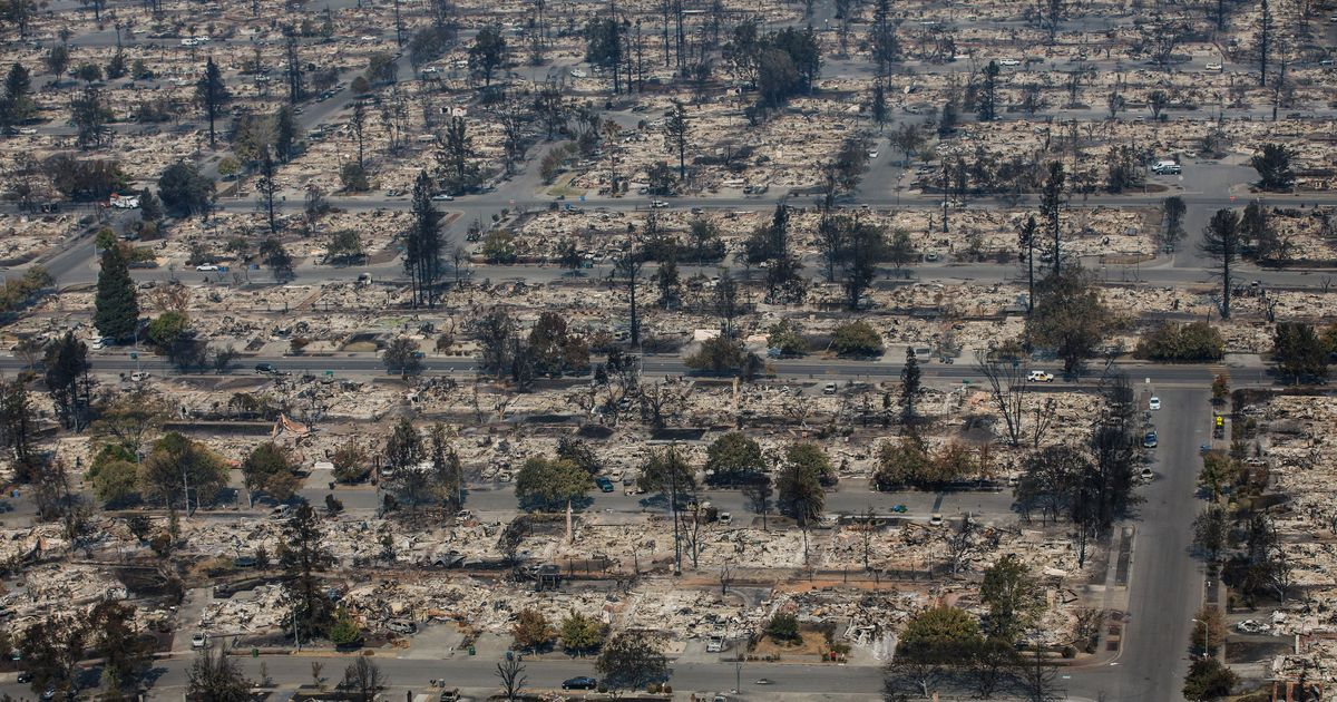 Wildfires Rage Across Northern California As the Death Toll Rises to 29