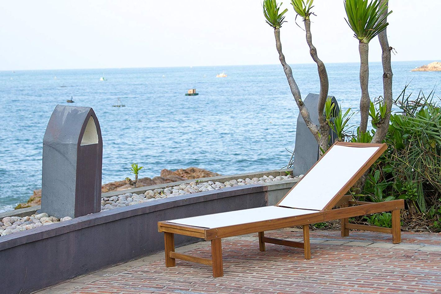 Safavieh Outdoor Collection Manteca Lounge Chair
