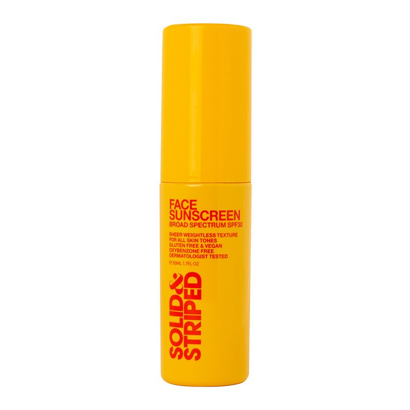 Solid & Striped Face Sunscreen Broad Spectrum SPF 30