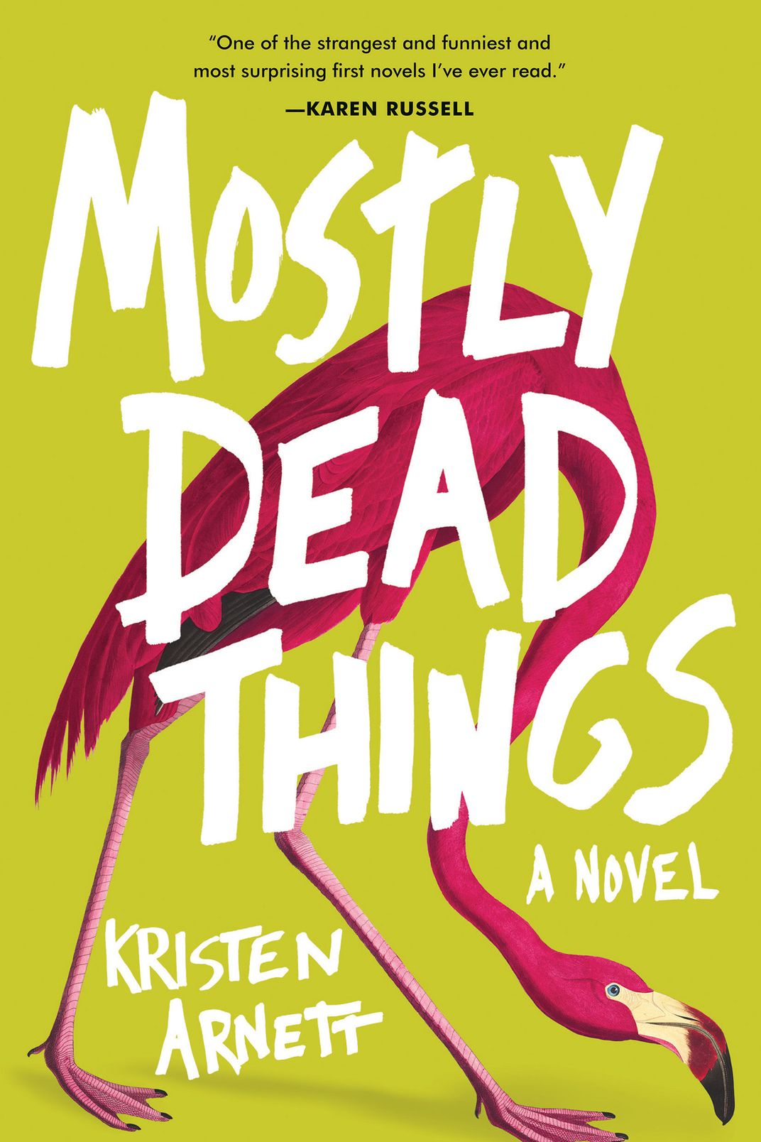 Mostly Dead Things, by Kristen Arnett (Tin House, June 4)