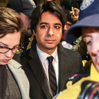 Jian Ghomeshi Leaving Courthouse