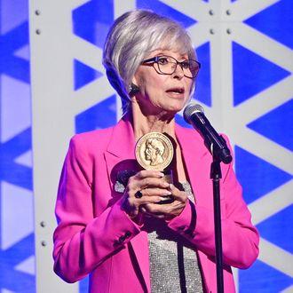 Rita Moreno Dedicates Peabody Award to Mom in Moving Speech