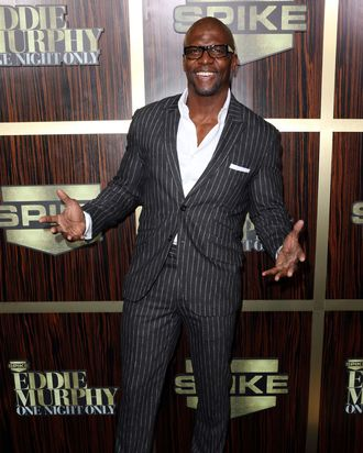 Actor Terry Crews arrives at Spike TV's