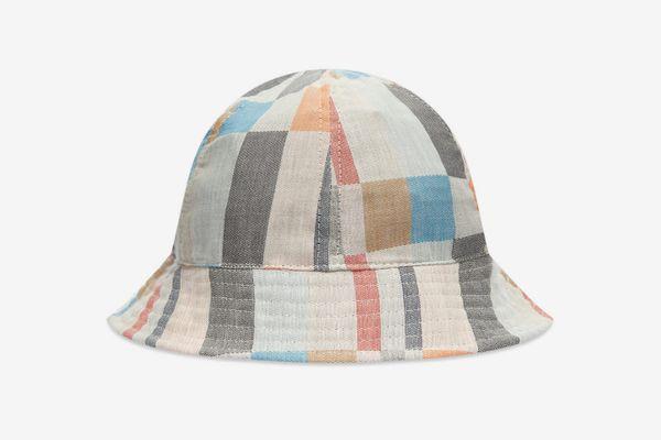 Folk Bucket Hat, Archive Multi Check