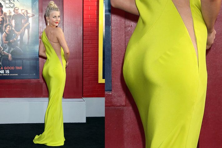 Red Carpet Trend Side Butt Is The New Sideboob