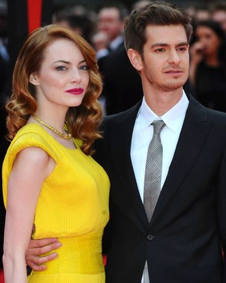 Emma Stone and Andrew Garfield.
