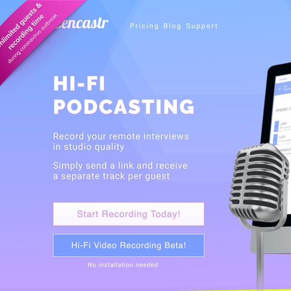 Zencastr Recording Software