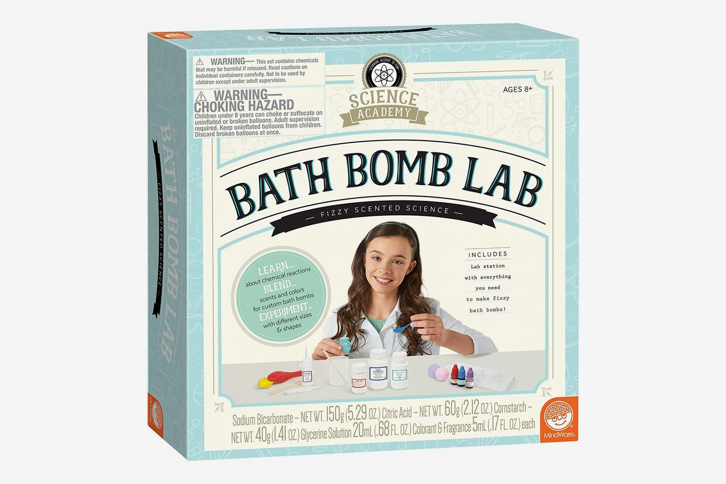 MindWare Science Academy Bath Bomb Lab