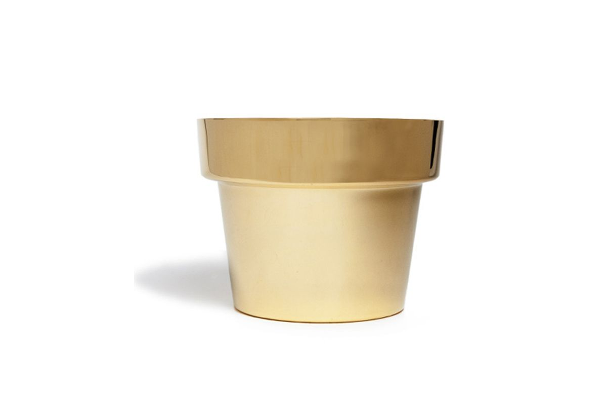Swedish Brass Planter