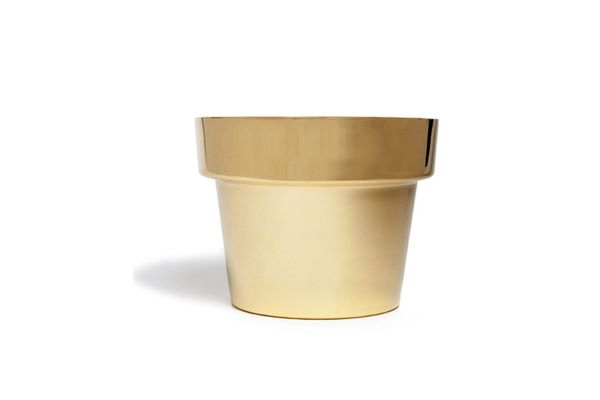Swedish Brass Planter