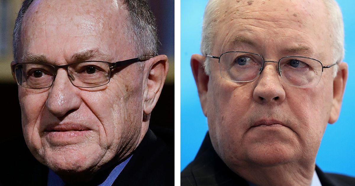 Trump Trial Team Will Include Alan Dershowitz, Ken Starr