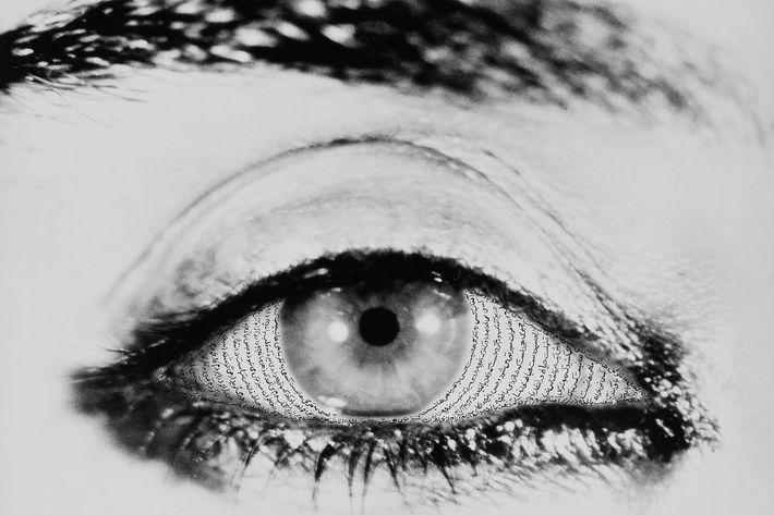 Visionaire poster by Shirin Neshat.