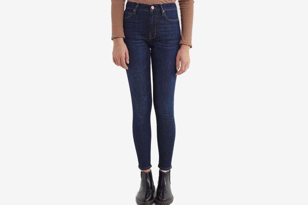 BDG Twig High-Waisted Skinny Jean – Rinsed Dark Wash