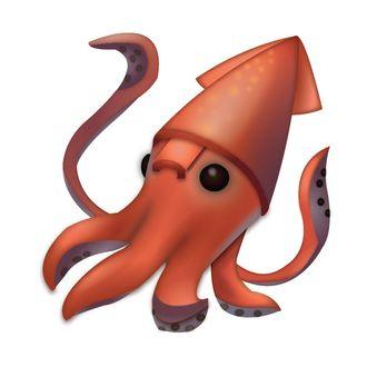 aquarium says squid emoji is anatomically incorrect