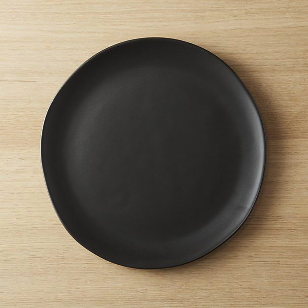 Crisp Matte Black Dinner Plate & 21 Best Basic-But-Cool Ceramic Plates and Tableware \u2014 2018