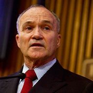 NEW YORK - JULY 13: New York Police Commissioner Ray Kelly speaks during a press conference about Leibby Kletzky, a murdered eight-year-old boy who went missing from the Hasidic neighborhood of Borough Park, Brooklyn, July 13, 2011 in New York City. After a two day search Kletzky's dismembered body was found partially in a suitcase inside a dumpster and partially in a refrigerator in a nearby apartment. Police detectives have taken Levi Aron, 35, into custody in connection to the killing. (Photo by Ramin Talaie/Getty Images)