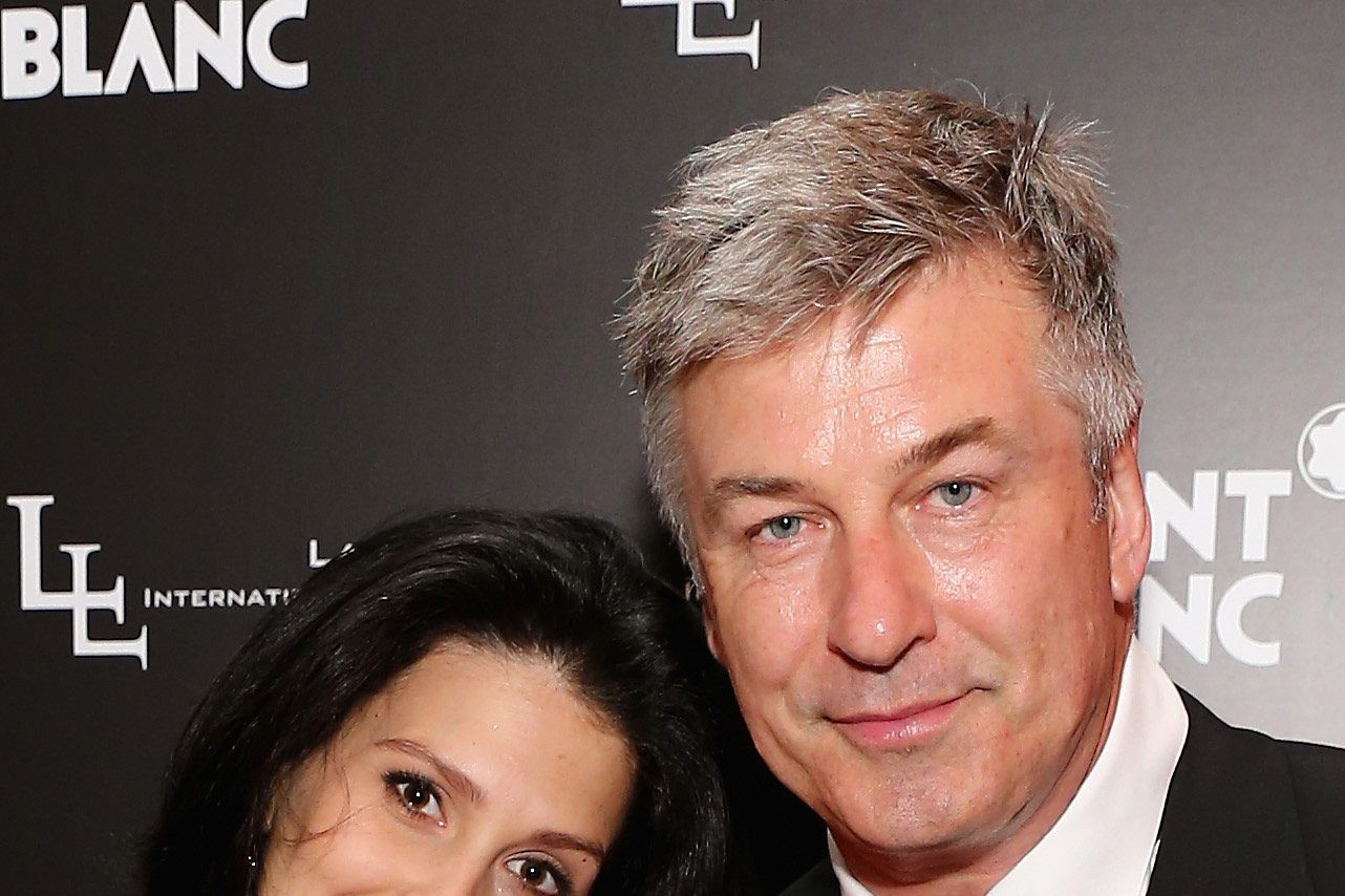 Hilaria Thomas and Alec Baldwin attend The Lang Lang International Music Foundation Inaugural Gala supported by Montblanc  at 10 on The Park on June 3, 2013 in New York City.