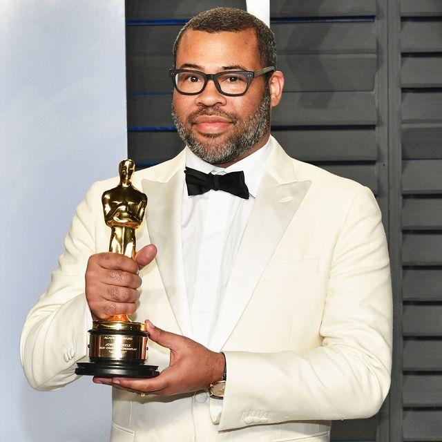 Jordan Peele Put His Oscar in the Creepiest Place Possible