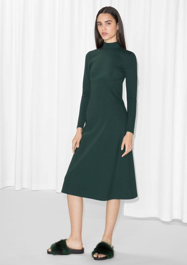 & Other Stories Body-Hugging Dress