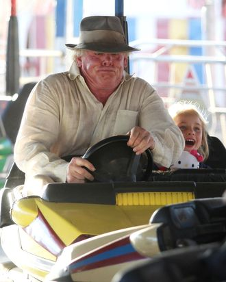 Actor Nick Nolte enjoying the day at the 31st Annual Malibu Kiwanis Chili Cook Off, Carnival and Fair in Malibu, California on September 2nd, 2012.