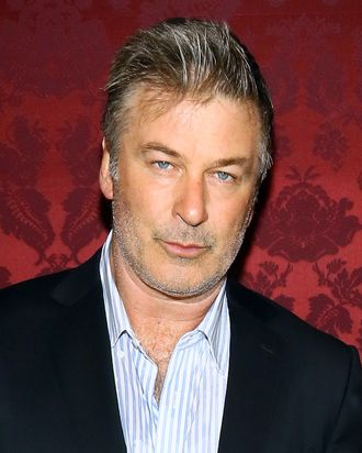 Alec Baldwin attends the 19th Annual Artwalk NY at 82 Mercer on October 29, 2013 in New York City.